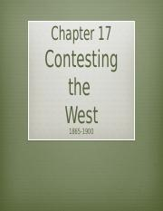 Ch.17.TheWest