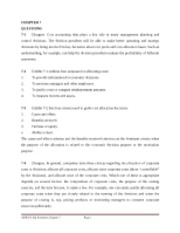 AYB225 Solutions Additional Questions Chapter 7