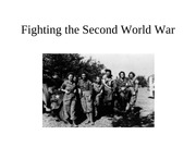 Fighting the 2nd World War