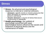 Chapter 14 - Health Psychology