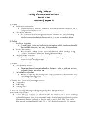 MGMT 330G - Exam 2 Study Guide