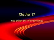 Free Energy and Thermodynamics Lecture Slides