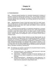 Auditing Chapter 11 Solution Manual