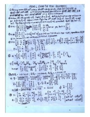 EXAM 3A 900 SOLUTIONS