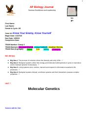 _AP Biology Journal #4.docx