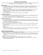 2012 accounting resume advice 2015 offer after 3 rd year