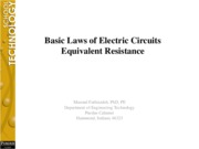 L#7 Electric Circuits Equivalent Resistance