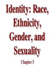 Chapter 5 Identity- Race -Ethnicity- Gender - Sexuality.pdf