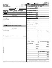Case 3 2018 Form 1120 S (Schedule K-1) HH.pdf