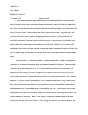 treasure island treasure island plot summary part i the old  3 pages treasure island