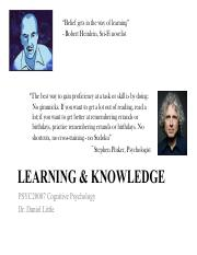 Lecture 4 - Learning & knowledge - Final.pdf