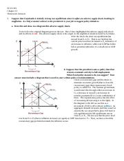 Eco 1101 Chapter 13 Homework Answers