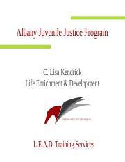 The EXPRESS -Juvenile Justice Programs.ppt