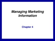 kotler04_basic - market research process