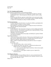 PYSC 100 CH. 3 notes