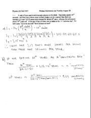 Written Homework 1 Solutions