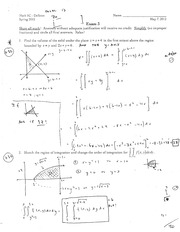 MATH 5c Spring 2012 Exam 3 Solutions