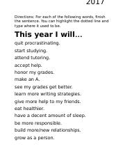 This year I will.... - Dylan Vo.docx