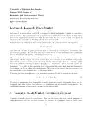 Lecture 3 Loanable Funds Market.pdf