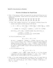 statistics practice problems solutions You can use the free response questions and scoring guidelines below as you prepare for the ap statistics.