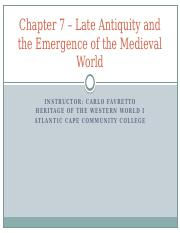 Chapter 7 - Late Antiquity and the Emergence of the medieval World 930 class (2).pptx