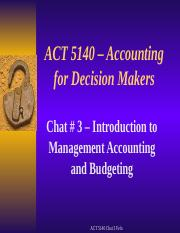 ACT 5140 Winter 2 2016 Chat 3 slides (1)
