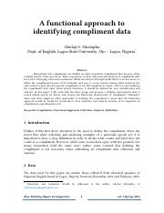 A functional approach to identifying compliment data.pdf