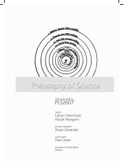 philosophy of science study guide