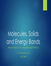 Week 2 - Molecules, Solids and Bands.pdf