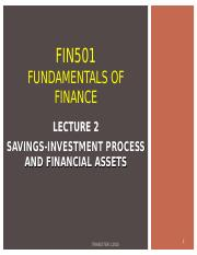 FIN501 LECTURE 2.ppt