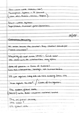 Collective Security Notes