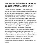 Martin Luther King to me had a better philosophy.docx