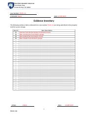 Case Notes - SAK and Evidence Inventory Part 2.docx