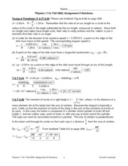 Physics 1112 Fall09 Homework 8 Solutions