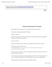 196036098-Final-Exam-Information-for-Precalculus