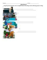 ser adjective manipulative sentences 9 art class is fun 10 i am