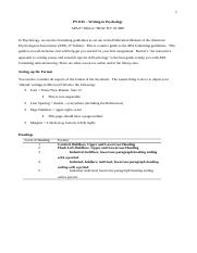 Handout 1 - How to write a Critical Evaluation