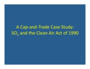 SO2 cap and trade case study