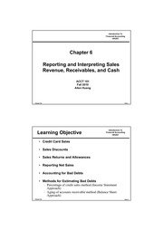 Chapter 6 for course website