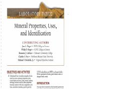 Lab Manual MINERALS