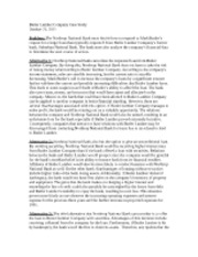 finance and butler lumber Citation: piper, thomas r butler lumber company tn harvard business school teaching note 292-014, january 1992 (revised april 1992).