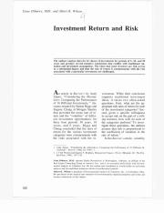 Investment_Returns and Risk Article.pdf