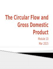 10 The Circular Flow and Gross Domestic Product
