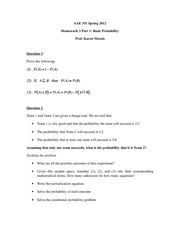 AAE 351 Spring 2012 Prob and Stats HW1