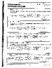Stoich. Mass-Mass problems Answer key - STOICHIOMETRY ...