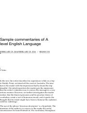 Sample commentaries of A level English Language | Anglo Lad.pdf