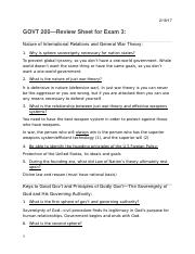 GOV200 Review Exam #3 Answers WORDDOC..docx