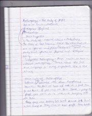 ANTH Introduction to Anthropology Notes
