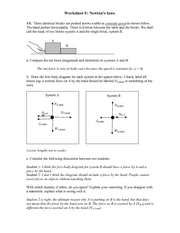 Recitation Worksheet F Solutions
