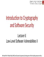 Lecture 6 -- Low-Level Software Vulnerabilities II.pptx